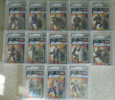GI Joe Exclusive 2013 complete set w/ Comic Con Exclusives Signed -  AFA Graded
