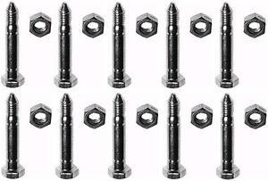 10-SHEAR-PINS-amp-BOLTS-for-John-Deere-AM122156-AM136890-Snowthrowers-Snowblower