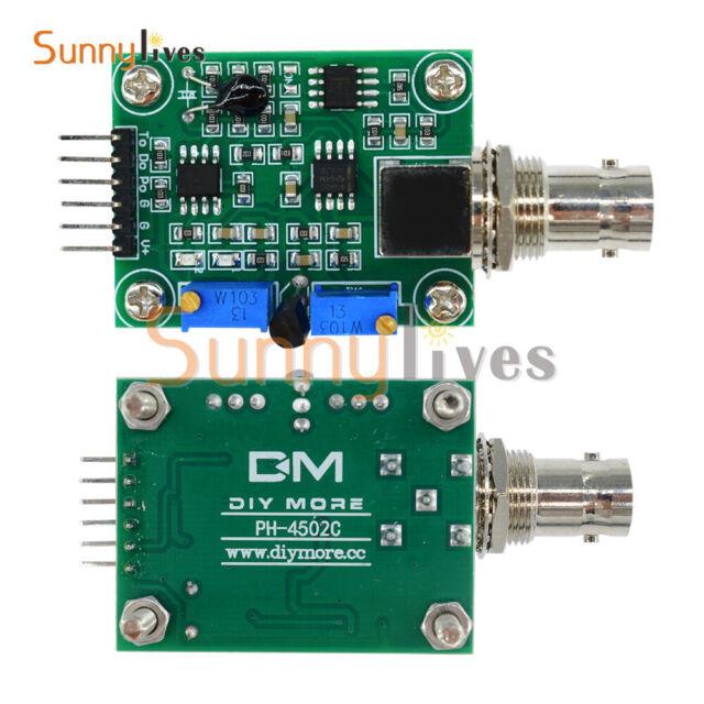 Liquid PH Value Detection Detect Sensor Module Monitoring Control For Arduino