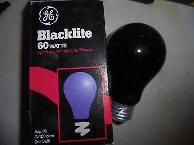Ge CFL Bulb Bl Med Base 13 W Box Blacklight 3 Bulbs