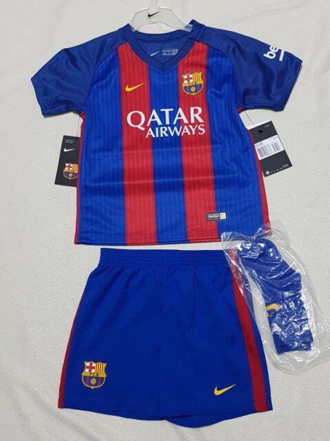 becde7fdd FCB BARCELONA NIKE KID S FULL FOOTBALL KIT (SHIRT