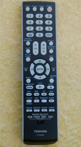 LCD  LED   TV Toshiba Remote Control CT-90302