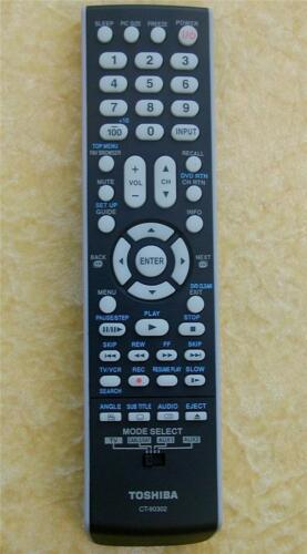 LCD  LED   TV Toshiba Remote Control CT-90302