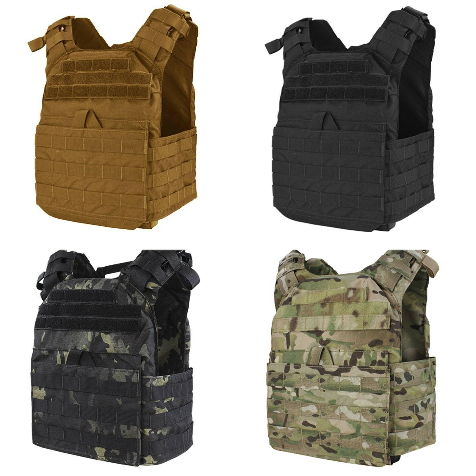 Condor US1020 MOLLE PALS First Responder Lightweight Easy Access Plate Carrier