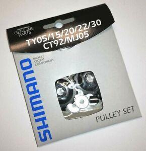 Shimano-Pulley-Schaltwerkrollen-10Z-RD-TY05-15-20-22-30-CT92-MJ05-Jockey-Wheels