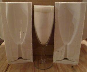 3D-Sektflote-Glas-Silikonform-fur-Kuchendekoration-Schokolade-Ton-Usw