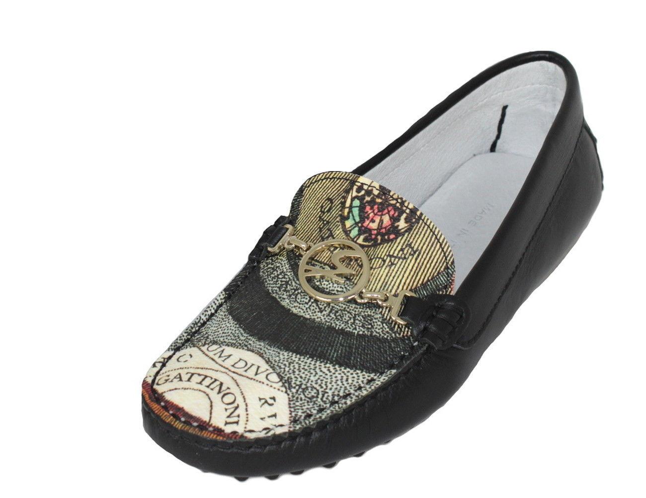 GATTINONI GATTINONI GATTINONI Femmes Chaussures chaussures Mocassins Cuir Taille 36-40 202 noir a7eb1d