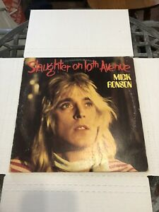 Mick-Ronson-Slaughter-on-10th-Avenue-Vinyl-LP-Stereo-APL1-0353-RCA-Victor