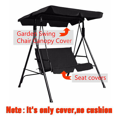 Outdoor Replacement Canopy Spare Cover for Garden Swing Hammock Seat Sun Shade