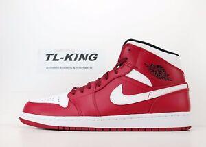 brand new bf651 3f65f La foto se está cargando Nike-Jordan-1-Mid-Retro-Chicago-Air-Gym-