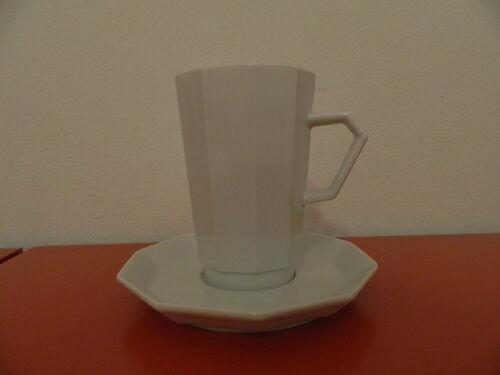 Polygon Rosenthal 12,5 cm hoch Schokobecher-Alu Latte 2 Tlg