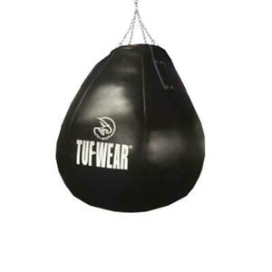 Tuf Wear All Black Leather Wrecking Ball (Large Maize Bag)