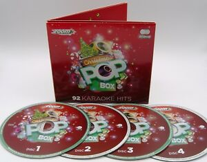 Christmas Karaoke Cd.Details About Zoom Karaoke Christmas Pop Box 4 Cd G Set 92 Christmas Karaoke Hits