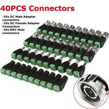 20PCS CAT5 TO BNC Passive Video + 20PCS Male Female Power Balun Transceiver Kit