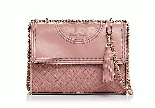 Tory Burch Small Fleming Convertible Shoulder Bag Pink Magnolia 43834 98d12a07cda99