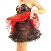 Black Adult 19 Crinoline Slip Petticoat Forum Novelties 59513