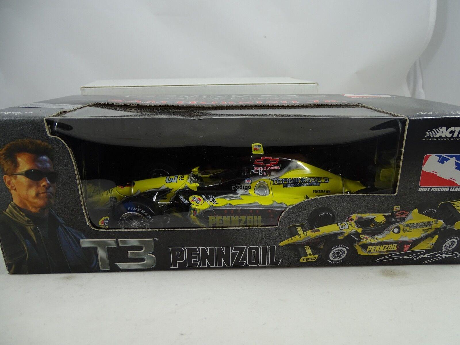 1 18 Action indy racing leauge car pennzoil Terminator 3-rareza §