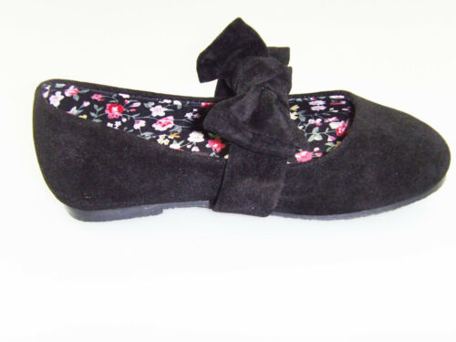 New Youth Kid;s Girl/'s Mary Jane Front Strap With Bow Slip-On Casual Dress Shoes