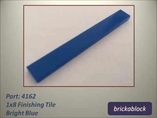 NEW Lego Part 4162 1x8 Flat Tile 2,4,6,8,10,12 or 15 Choose Colour /& Quantity