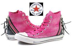 Converse All Star GIRLS TAGLIA 3 neutro alta tutte le scarpe casual Sulfide vulcanizzata