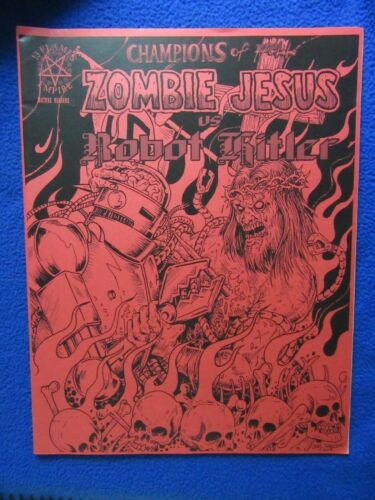 CHAMPIONS OF HELL ZOMBIE JESUS VS ROBOT HITLER 13 FLAMES EMPIRE 2008