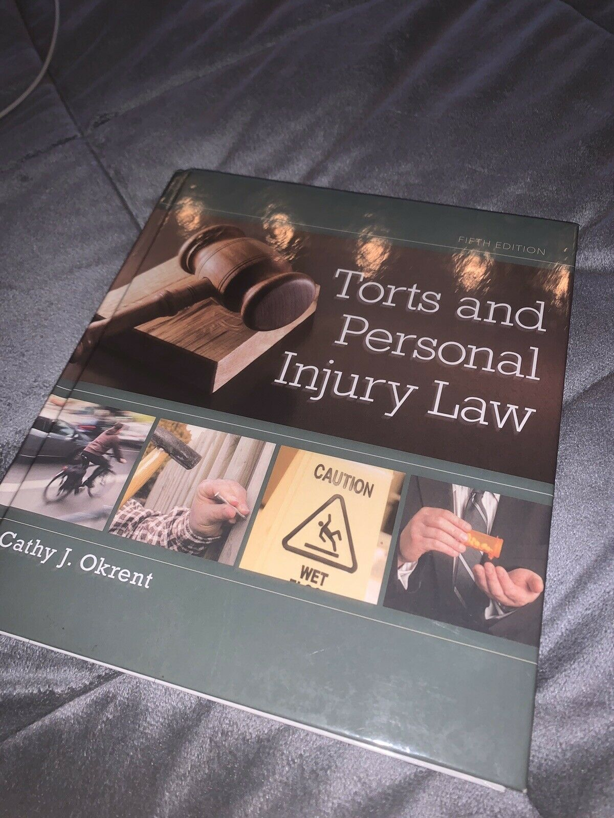 Torts and Personal Injury Law by Cathy Okrent Hardcover Book English 2018 1