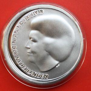Niederlande-Netherlands-10-Euro-2002-Silber-KM-243-PP-Proof-F0333