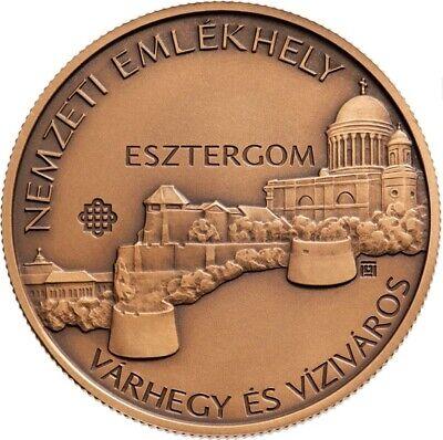 Square Coin BU Hungary 2000 forint 2019 Kandó Kálmán Kando Locomotive Train