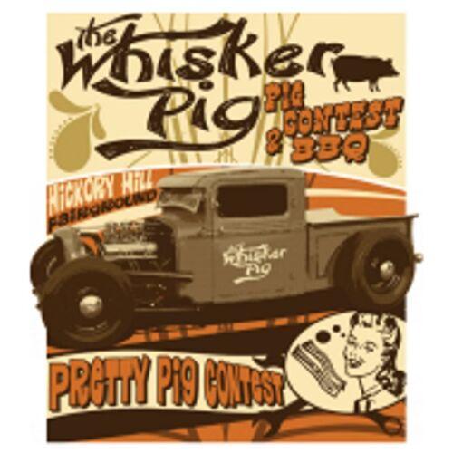 Sweatshirt schwarz Hot Rod-,US Car /& `50 Stylemotiv Modell The Whiskey Pig