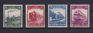 DR 580-83 Eisenbahnen postfrisch komplett (ct236)