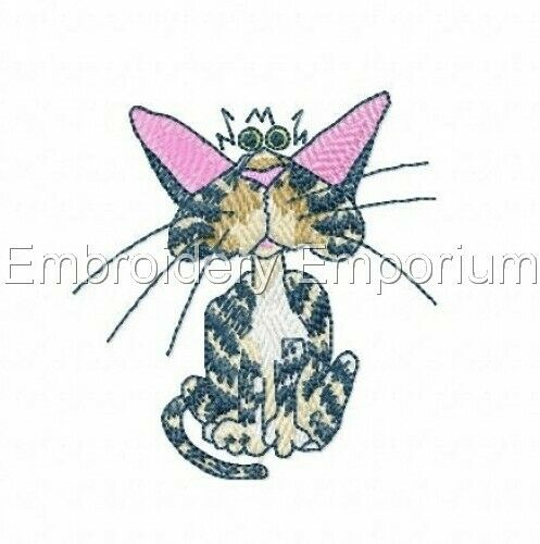 CATBERRY TAILS COLLECTION MACHINE EMBROIDERY DESIGNS ON CD OR USB