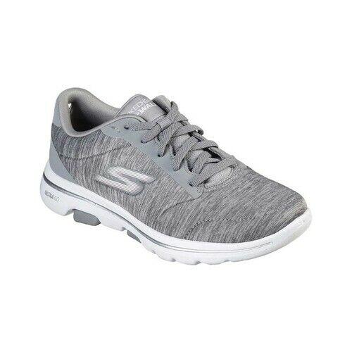 Skechers Womens Go Walk 5 Grey Walking