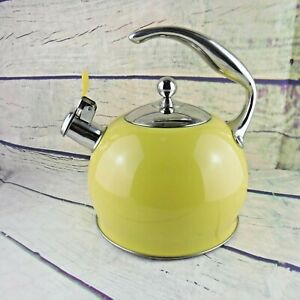 3 L Tetera de acero inoxidable color amarillo Sotya Best
