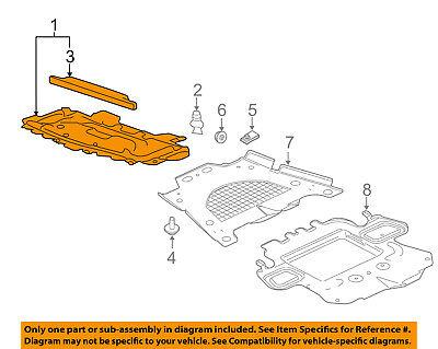 Cadillac GM OEM CTS Front Fender-Liner Splash Shield Panel Cover Left 23169304