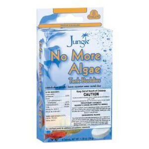 2019 New Style Jungle Niente Più Alghe Fizz Compresse Mantenimento 8 Pillole Acquario Buddies Nourishing The Kidneys Relieving Rheumatism Fish & Aquariums