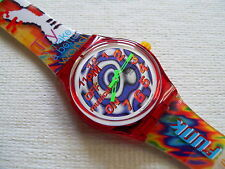 1996 Musical swatch watch 11PM Melody By Paolo Mendonça and a CD SLZ103