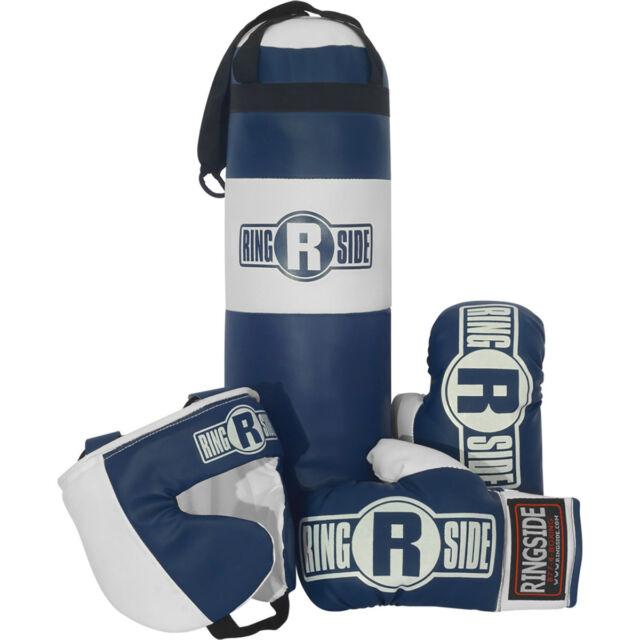 Ringside Youth Kids Boxing Kit Training Bag Set Punching Gloves Heavy Bundle b1420eacc917f