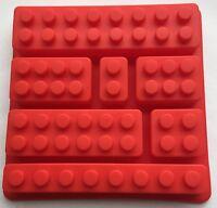 Silicone Mould Party Favor Lego Brick Candy Chocolate Jello Soap Crayon Mold Pan