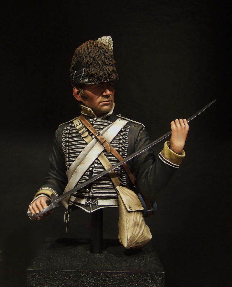 SK Miniatures Napoleonic British Light Dragoon 1 9th Unpainted kit CARL REID