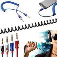 3.5mm Male to Male Car Aux Auxiliary Cord Stereo Audio Cable