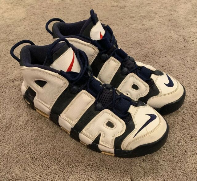 2012 NIKE AIR MORE UPTEMPO SCOTTIE PIPPEN OLYMPIC NAVY BLUE WHITE 414962 401 14