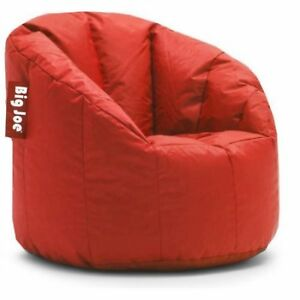 Outstanding Details About Bean Bag Chair Joe Milano Adult Kids Big Large Giant Oversized Dorm Filling Red Theyellowbook Wood Chair Design Ideas Theyellowbookinfo