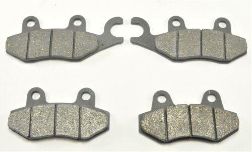 New Front Brake Pads /& Rear Shoes For KAWASAKI KLF300C Bayou300 4x4 1995-00