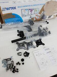 HFTEK-3-Fach-Monitorarm-Tischhalterung-fur-Bildschirme-15-27-Zoll