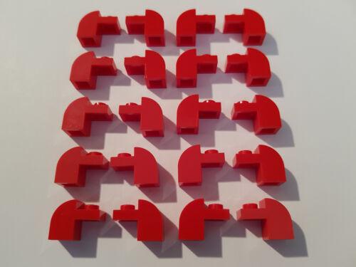 modifica LEGO ® 20 x 6091 Basic arco pietra 1 x 2 x 1 1//3 ROSSO 609121 #aa53