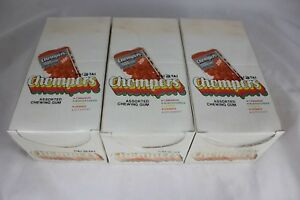 3-Vtg-Hai-Tai-Chompers-Chewing-Gum-Seoul-Korea-20-Packs-Sealed-in-Retail-Boxes