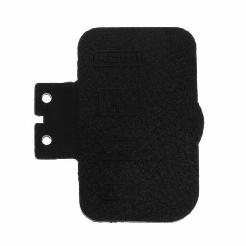 Cuerpo De Goma USB de repuesto pieza de reparación cubierta para Nikon D700 vendedor del Reino Unido