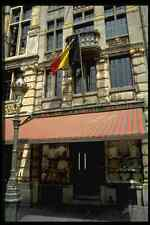 369063 Lace Shop On The Grande Place Brussels Belgium A4 Photo Print