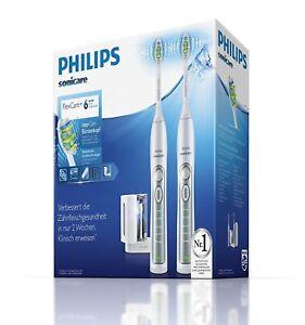 Philips-HX6972-35-2X-Schallzahnbuersten-Elektrische-Zahnbuerste-DOPPELPACK