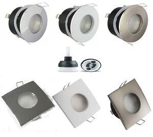 Downlight-Empotrado-Techo-GU10-Bano-Escarchado-IP44-Spotlight-Redondo-O-Cuadrado